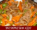 Spicy Pepper Steak picture