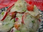 Creamy Garden Cucumber Salad picture