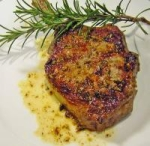 Pan Seared Veal Chops With Rosemary picture