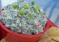 Creamy Crunchy Spinach Dip picture
