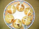 Easy Hot Cross Muffins picture