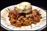 Butterscotch Apple Pecan Cobbler picture