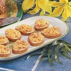 cheddar bacon toasts picture