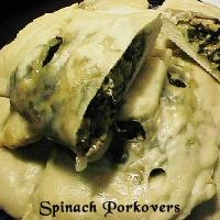 Spinach Porkovers picture
