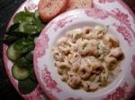 Cream Pasta Sauce With Zucchini picture