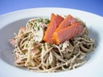 Spaghetti with Smoked Salmon picture