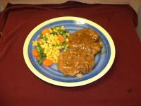 Beef Patties in Onion Gravy picture
