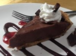 Silky Chocolate Peanut Butter Pie picture