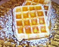 Orange Nut Waffles with Orange Syrup picture