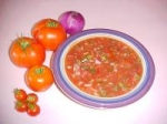 Fresh Homemade Garden Salsa picture