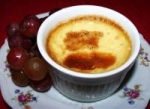 Baked Custard With Berries picture