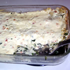 cheesy spinach lasagna picture