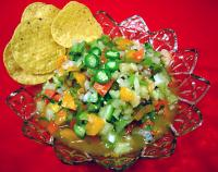 Roasted Garlic Green Tomato Salsa picture