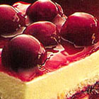 Cherry Angel Cream Cake picture