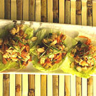 cherry chicken lettuce wraps picture