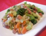 Frankfurter Vegetable Stir-fry picture