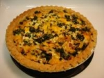 Chicken and Spinach Quiche picture