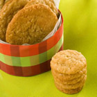 chewy coconut cookies picture